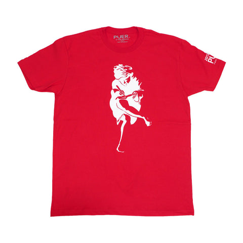 Athen Tee Shirt * Survivor Red* - PUER BY NOEL BRONSON
