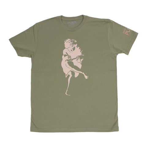 Athen Tee Shirt * Earth Tone* - PUER BY NOEL BRONSON