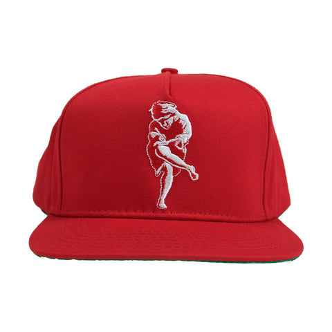 ATHEN SNAPBACK *RED* - PUER BY NOEL BRONSON