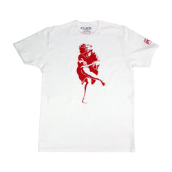 Athen Tee Shirt * Safety Red * - PUER BY NOEL BRONSON