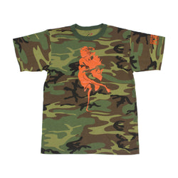 Athen Tee Shirt *Woodland Camo * - PUER BY NOEL BRONSON