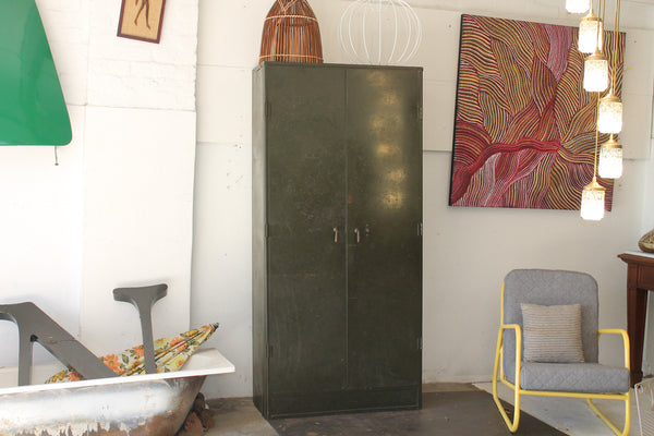 40s industrial cupboard