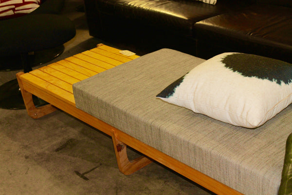 Custom Built Bench with cushion