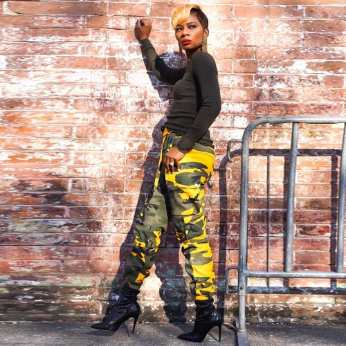 PhotoShoot Camo Pants