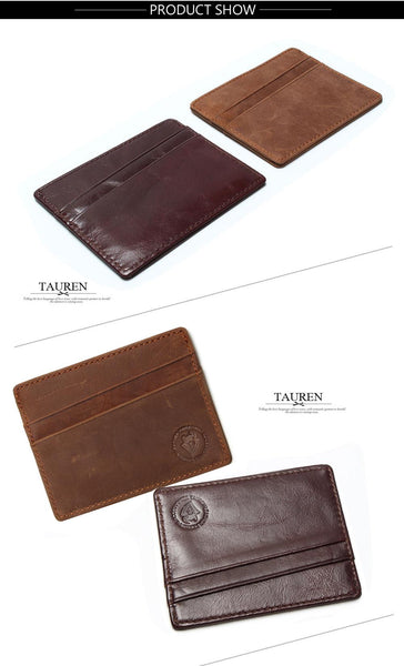 Slim RFID blocking travel Wallet
