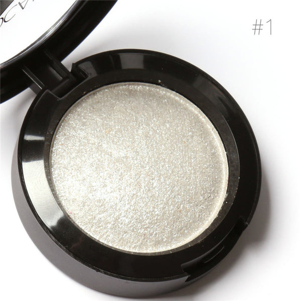 Metallic Baked Eyeshadow With Extra Shimmer