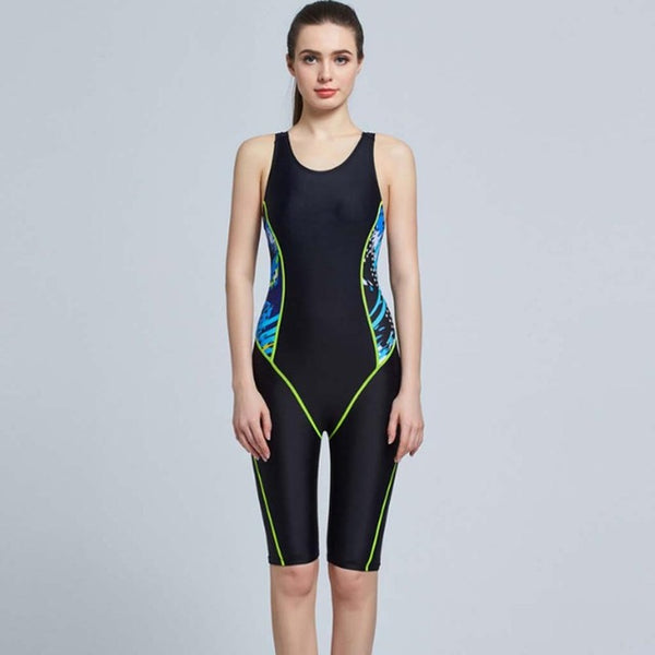 Professional One Piece Swim Suit - Sports Competition Swimwear