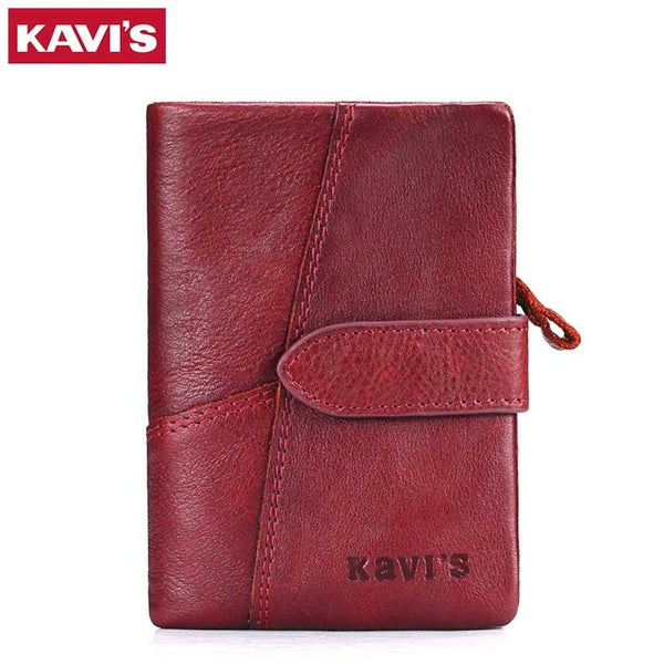 RFID Blocking Genuine Leather Women Wallet And Purses