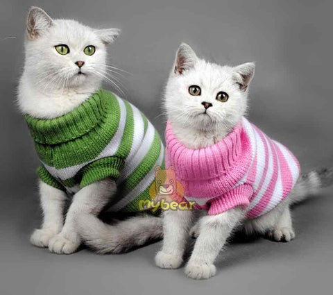 Cat Knitted Pullover Holiday Sweater
