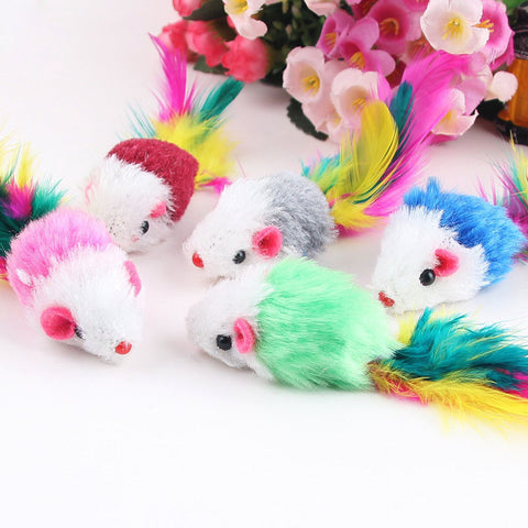 Cat Mouse Rattle Toy
