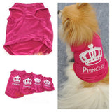 Cute Crown Cat Princess T-Shirt