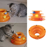 Cat Interactive Racetrack Ball Toy