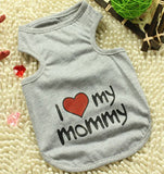 I Love Mommy (Or Daddy) T-Shirt For Cats