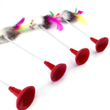 Funny Feather Mouse Cat Toy