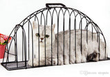 Safe Iron Cat Bathing Cage
