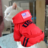 Pet Cat Costumes Winter Dog Jumpsuit Clothes for Cats Pet Clothing Pajamas Coat Puppy Clothes Ropa para Gatos Moscotas #3