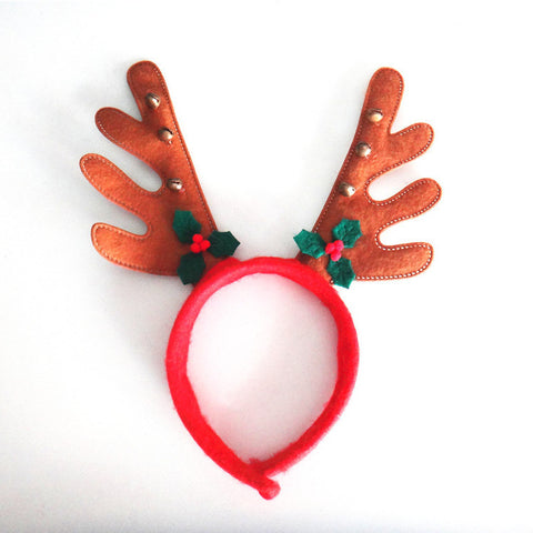 Cat Christmas Holiday Reindeer Antler