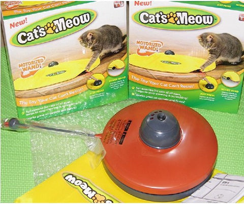 Electronic Cat Mouse Toy