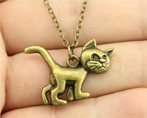 Groovy Cat Necklace