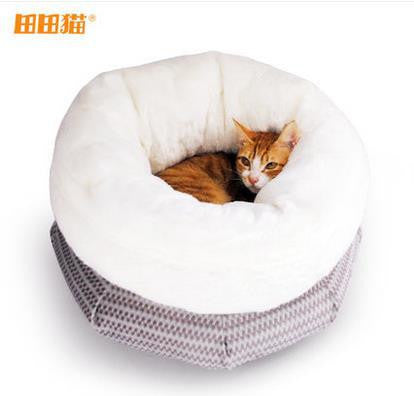 Cat Winter Pocket Sleeping Bed