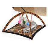 foldable products for cats Pet Toy hammock Playing sleeping furniture tent blanket kitten toys with balls cat supplies