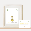 Instant Download Matching Guest Book