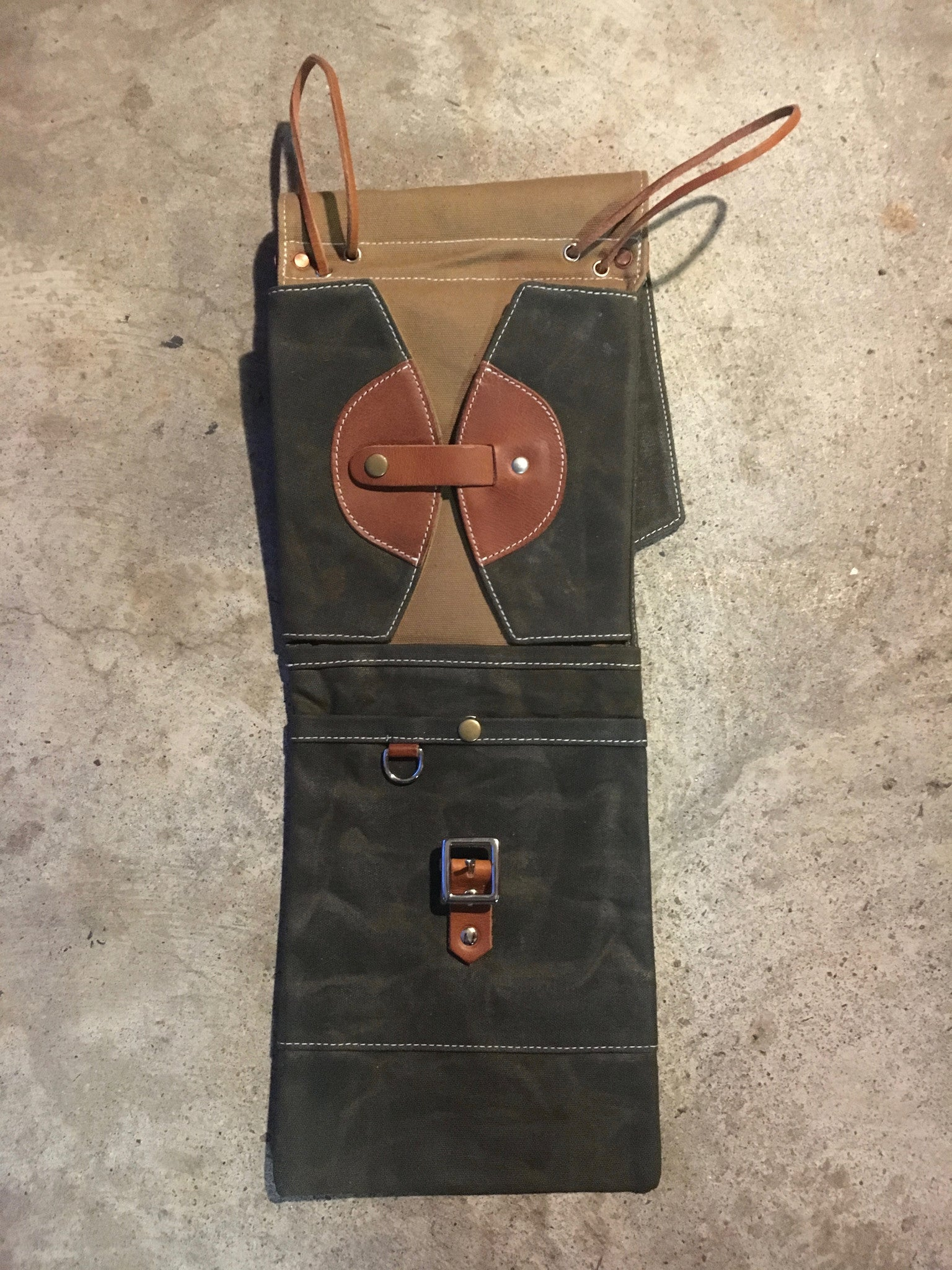 Waxed Canvas Compact Drum Stick Bag – TACKLE Instrument Supply Co. 3bcac188a0dfa