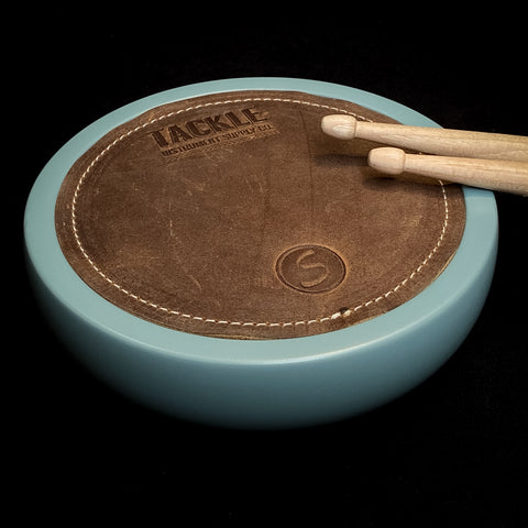 #5 TACKLE/SUGAR Percussion Coffee Table Practice Pad- PORSCHE BLUE