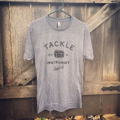 Tackle Instrument T-shirt- HEATHER GREY