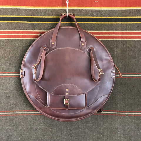 Leather Backpack Cymbal Bag