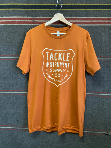 Tackle Instrument T-shirt- Badge AUTUMN