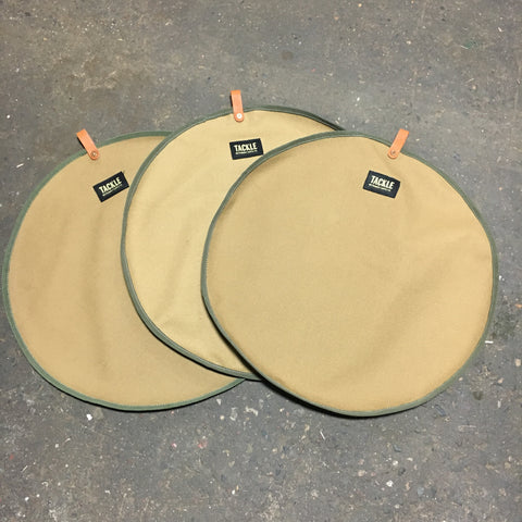 3 Pack- Canvas Cymbal divider