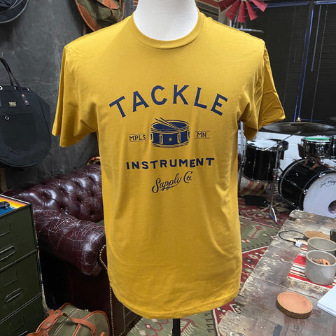 Tackle Instrument T-shirt- Antique Gold