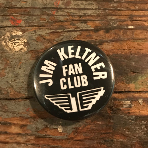 Jim Keltner Fan Club button