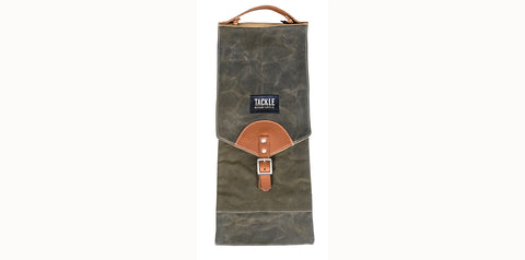 Waxed Canvas Compact Drum Stick Bag