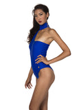 JALL! Edgy Chic Cold-Shoulder Monokini