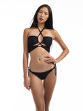 JALL! Seduce Halter Neck Cris-Cross Bikini Set