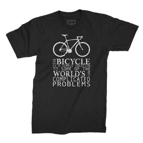 A Bicycle Solves Many World Problems