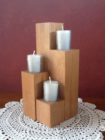 Candle tower - wood