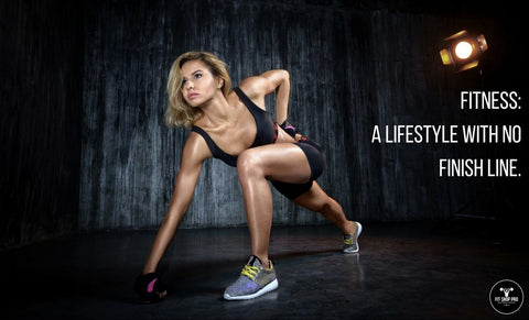 Fitness: A lifestyle with no finish line