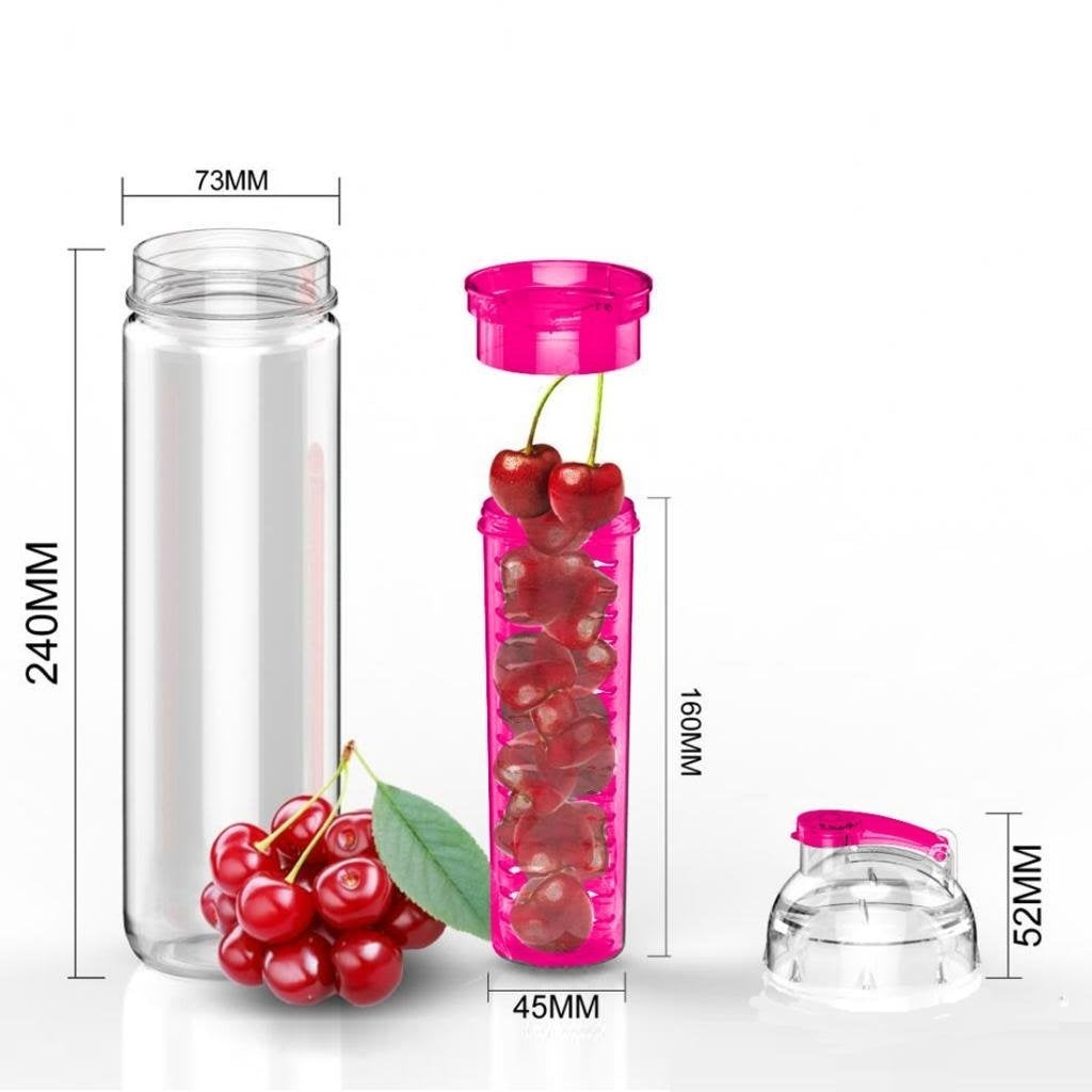 Trendy Fruit Water Infuser Detox Sport Bottle 700ml New Tritan Infusd Forget Commercial Now You Can Make Your Own Infused Drinks