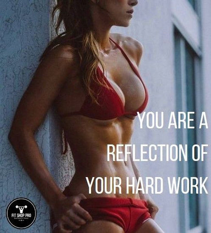 You are a reflection of your hard work