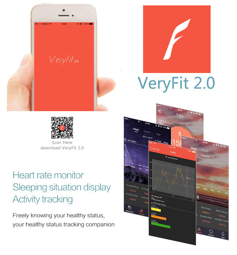 Veryfit Smart Bracelet Instructions