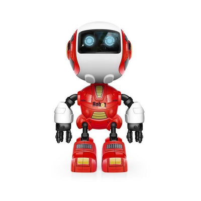 Action & Toy Figures Smart Robot Toy  Electronic Action Figure Toy Head Touch-Sensitive LED Light Alloy Robot Toys