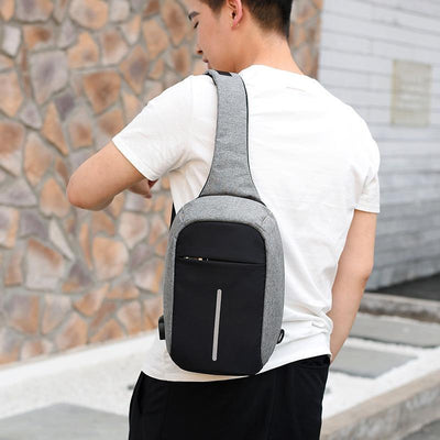 Backpack Mini Backpack Anti Theft  USB Rechargeable