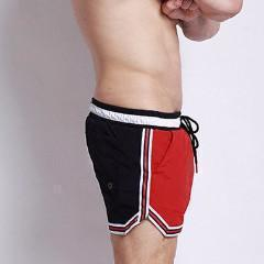 Boardshorts 2 Color Patchwork Swimwear Men Short