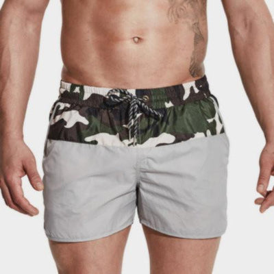 Boardshorts Half Camouflage Swimming Shorts