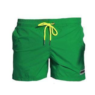 Nylon Light Swim Men Shorts - Neon Strap