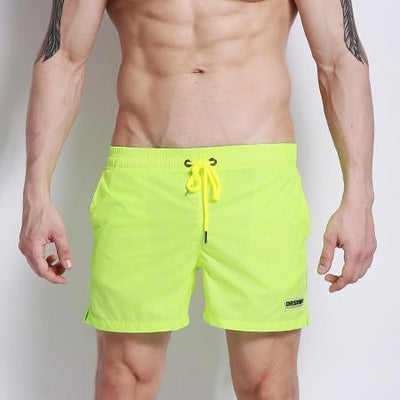 Boardshorts Nylon Light Swim Men Shorts - Neon Strap