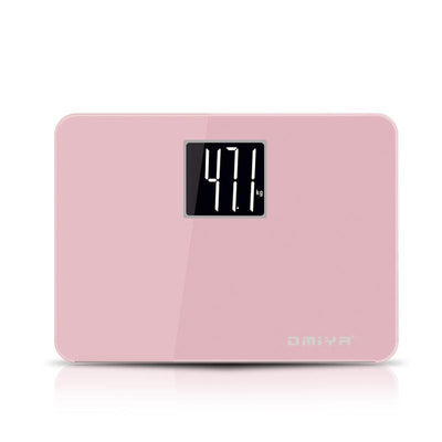 Body Scale Candy Colour Mini Smart Scale LED Digital